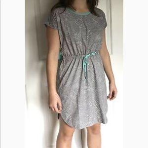 Title Nine Cinch Dress w Pockets & Open Back Sz L